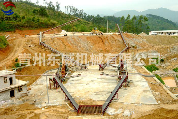 洗沙、输送生产线