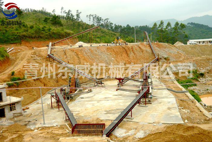 大型洗沙输送生产线